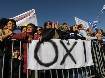 «Oxi» heißt «Nein»