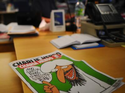 Das «Scharia-Sonderheft» der französischen Satire-Zeitung «Charlie Hebdo». Foto: Martin Bureau