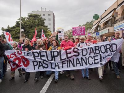 Protest gegen G20-Gipfel
