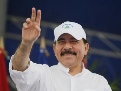 Daniel Ortega tritt trotz Verfassungsverbotes zum dritten Mal an - und gilt als klarer Favorit. Foto: Nicaraguanisches Präsidentenbüro/epa