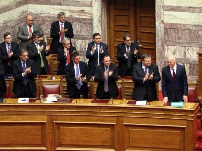Applaus für Papandreou