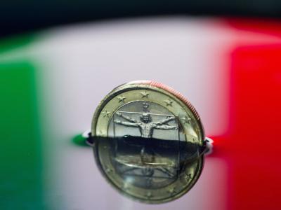 Die Angst sitzt dem hoch verschuldeten Italien im Nacken. Symbolfoto: Patrick Pleul