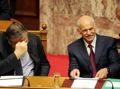 Papandreou gewinnt Vertrauensabstimmung
