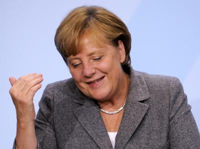 Kanzlerin Merkel sieht Beschlüsse mit Augenmaß, «die ein Stück weit mehr Gerechtigkeit walten lassen». Foto: Maurizio Gambarini