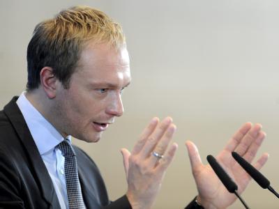FDP-Generalsekretär Christian Lindner. Foto: Maurizio Gambarini