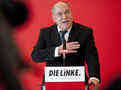 Der Fraktionsvorsitzende der Partei Die Linke im Bundestag, Gregor Gysi. Foto: Robert Schlesinger