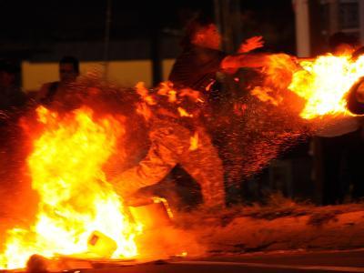 Unruhen in Managua