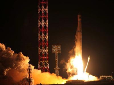 Wenige Stunden nach dem Start vom Weltraumbahnhof Baikonur ein russisches Raumschiff mit einer etwa 120 Millionen Euro teuren Sonde vom Kurs abgekommen. Foto: Roscosmos