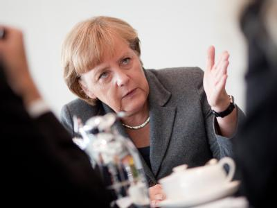 Merkel im Interview