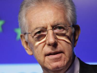 Mario Monti ist mit der Regierungsbildung in Rom beauftragt worden. Archivfoto: Jonathan Brady