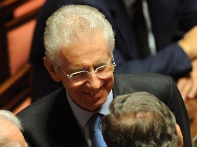 Mario Monti ist mit der Regierungsbildung in Rom beauftragt worden. Foto: Maurizio Brambatti