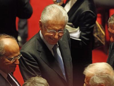 Abstimmung im italienischen Senat