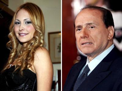 Silvio Berlusconi und Noemi Letizia