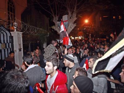 Protest von Assad-Anhängern