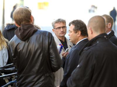 Bundesinnenminister Hans-Peter Friedrich (CSU, 3.v.r.). Foto: Soeren Stache