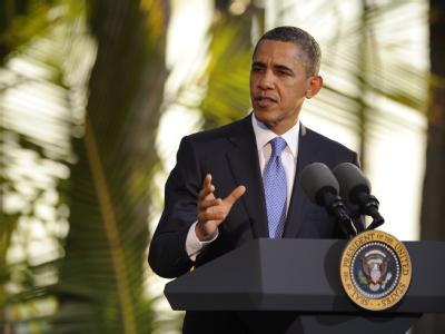 US-Präsident Obama macht Druck gegen Teheran.  Foto: Cory Lum