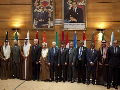 Treffen der Außenminister der Arabischen Liga in Rabat. Syrien ist nicht vertreten. Foto: Zacarias Garcia