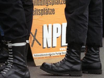77 Prozent der Deutschen sprechen sich für ein NPD-Verbot aus. Archivfoto: Jens Kalaene