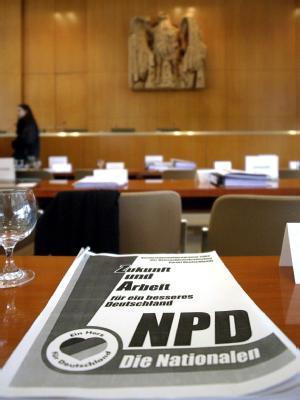 Debatte um NPD-Verbot
