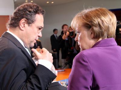 Merkel und Friedrich