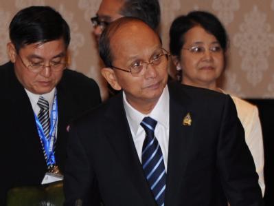 Birmas Präsident Thein Sein