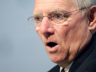 Bundesfinanzminister Wolfgang Schäuble sagt Nein zu Eurobonds ohne Fiskalunion. Foto: Boris Roessler dpa/Archiv