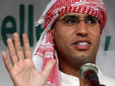 Der nach wochenlanger Flucht festgenommene Gaddafi-Sohn Saif al-Islam muss sich in Libyen vor Gericht verantworten. Archivfoto: Mast Irham