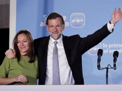Mariano Rajoy und Ehefrau