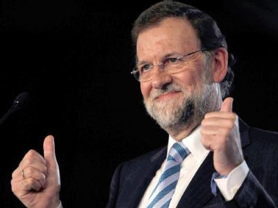 Mariano Rajoy soll Spanien aus der Krise führen. Der bisherige Oppositionsführer gewann nach einer TV-Prognose mit seiner konservativen Volkspartei die absolute Mehrheit im Parlament. Archivfoto: Albert Olive