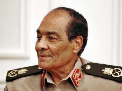 Feldmarschall Mohammed Hussein Tantawi (76) ist aktuell der mächtigste Mann in Ägypten. Foto: Cai Yang