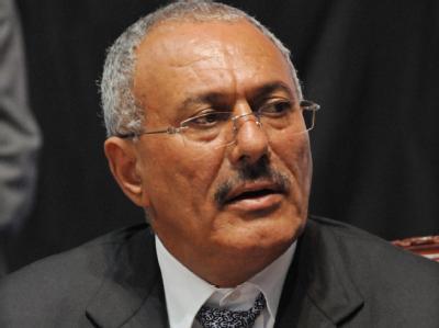 Nach zehn Monaten Krise gibt es im Jemen Hoffnung auf Wandel. Präsident des Jemens, Ali Abdullah Salih. Archivfoto: Stringer