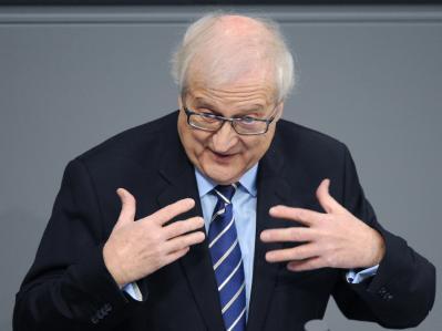 Der Fraktionsvorsitzende der FDP im Bundestag, Rainer Brüderle. Foto: Rainer Jensen