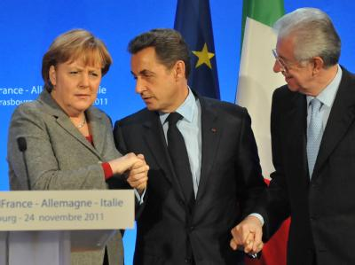 Kündigten Vorschläge noch vor dem nächsten EU-Gipfel an: Bundeskanzlerin Angela Merkel und Frankreichs Staatspräsident Nicolas Sarkozy. Foto: Rolf Haid