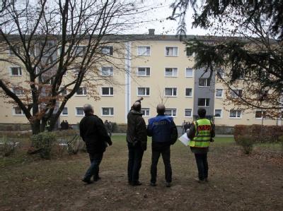 Drei Tote in Wiesbadener Wohnblock
