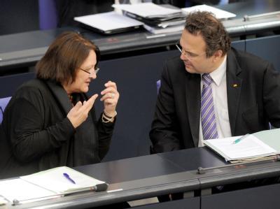 Sabine Leutheusser-Schnarrenberger und Hans-Peter Friedrich