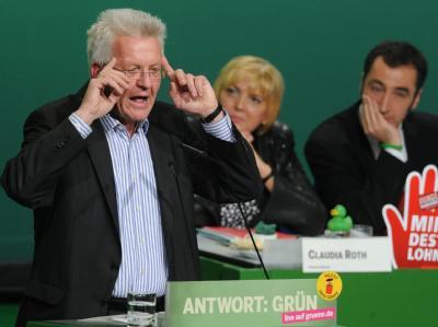 Kretschmann spricht auf Parteitag