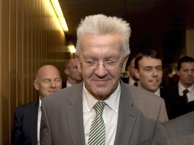 Der baden-württembergische Ministerpräsident Winfried Kretschmann. Foto: Bernd Weißbrod