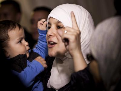 Jubel bei den marokkanischen Islamisten, die erstmals den Regierungschef stellen. Foto: Zacarias Gaqrcia