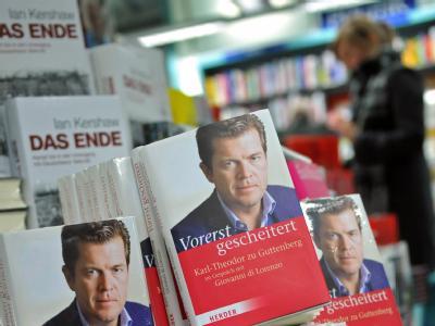 Verkauf des Guttenberg-Buchs