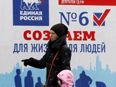 Zwei Tage vor der Wahl in Russland sind die einzigen unabhängigen russischen Wahlbeobachter zu einer Geldstrafe verurteilt worden. Foto: Yuri Kochetkov