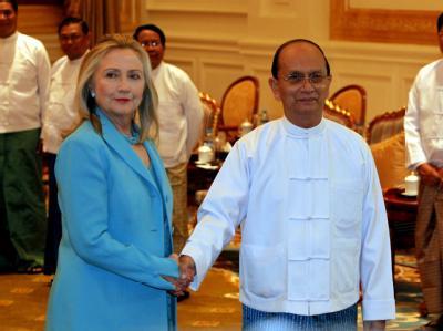 Clinton und Sein
