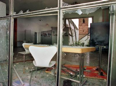 Anschlag auf die Wehrmachtsausstellung 1999: Die Spur des Terror-Trios führt auch ins Saarland. Foto: Werner Baum/Archiv