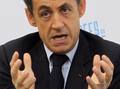 Frankreichs Staatspräsident Nicolas Sarkozy. Foto: Jacques Brignon/Archiv
