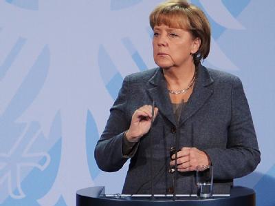 Bundeskanzlerin Angela Merkel will beim Gipfel in Brüssel hart bleiben. Foto: Hannibal