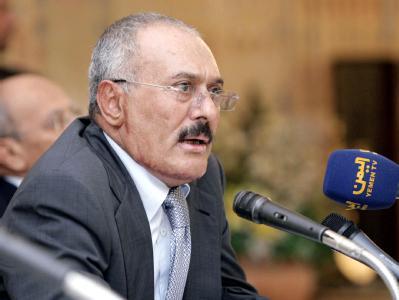 Präsident des Jemens Präsident Ali Abdullah Salih. Foto: Präsidentenbüro Jemen