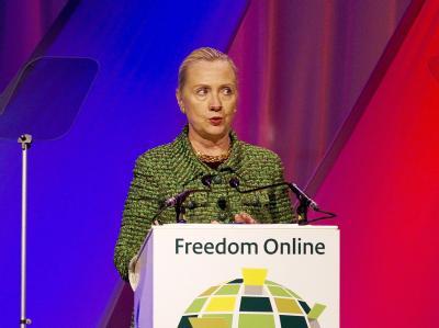 Spätestens seit dem Arabischen Frühling ist der Nutzen des Internets für die Zivilgesellschaft offenbar geworden. Doch es hilft auch Diktatoren, warnt US-Außenministerin Hillary Clinton. Foto: Jerry Lampen