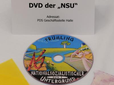 Nach der «DVD 1» der terroristischen Vereinigung «Nationalsozialistischer Untergrund» sind nun weitere Filme gefunden worden. Foto: Franziska Kraufmann/Archiv