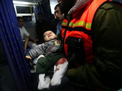 Die Gewalt zwischen Israelis und Palästinensern im Gazastreifen ist erneut aufgeflammt. Foto: Ali Ali