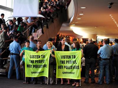 Proteste beim Klimagipfel