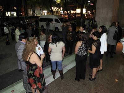 Der Schreck sitzt noch tief: Ein Erdbeben der Stärke 6,8 hat am Samstagabend Mexiko erschüttert. Foto: pa/str
